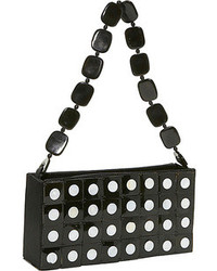 Polka dot horn handbag medium 72079