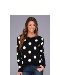 BCBGeneration Polka Dot Pullover Sweater