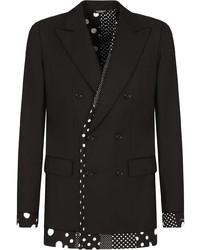 Dolce & Gabbana Button Front Blazer