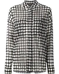 Alexandre Vauthier Polka Dot Shirt