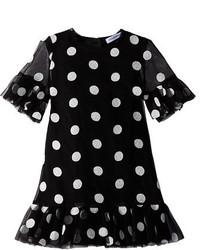 Dolce & Gabbana Kids Ss Polka Dot Dress