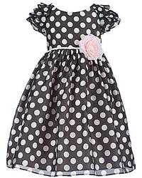 Laura Ashley London Little Girls 2t 6x Polka Dot Dress