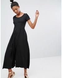 Polka dot wide leg jumpsuit medium 4420859