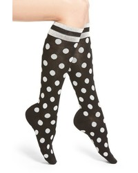 Kate Spade New Yoke Polka Dot Knee High Socks