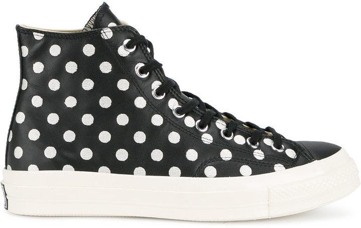 Converse Polka dot All Star Hi 70's sneakers