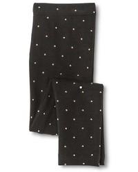 Circo Toddler Girls Polka Dots Legging Pant Black Tm