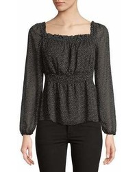 Highline Collective Peasant Sleeve Empire Blouse