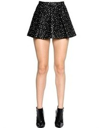 Giambattista Valli Polka Dot Techno Lurex Jacquard Skirt