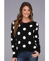 BCBGeneration Polka Dot Pullover Apparel
