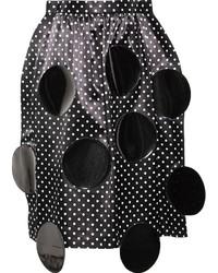 Junya watanabe comme des garons polka dot applique skirt medium 193509