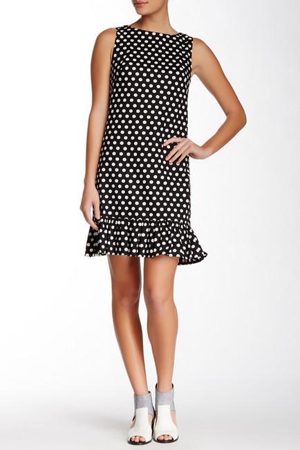 Betsey Johnson Ruffle Hem Dot Shift Dress | Where to buy & how to wear