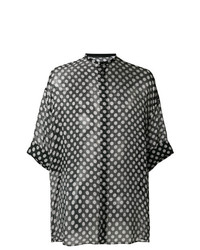 Haider Ackermann Oversize Polka Dot Shirt