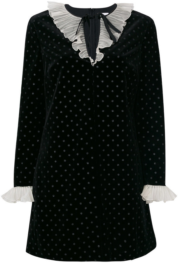 Red Valentino Polka Dot Dress