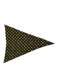Alexander Wang Black Polka Dot Scarf