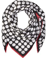 Echo Design Polka Dot Silk Square Scarf Scarves