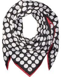 Echo Design Polka Dot Silk Square Scarf Scarves