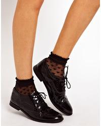 Asos Socks With Sheer Heart Design
