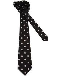 Christian Dior Vintage Polka Dot Tie