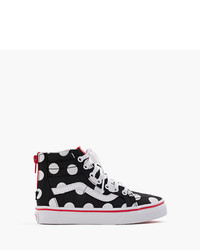 J.Crew Vans Authentic Polka Dot Sneakers In Larger Sizes
