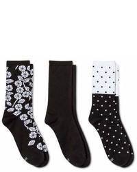 Hanes Comfort Soft Crew Socks 3 Pack