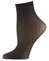 Wolford Dotted Sheer Ankle Socks