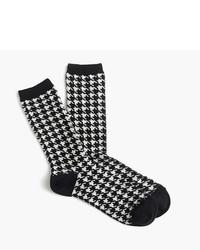 J.Crew Trouser Socks In Mini Polka Dot