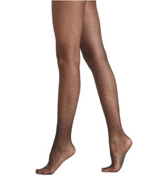 Hue Dot Tulle Sheer Hosiery