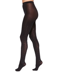 Wolford Fabienne Dot Velvet Tights