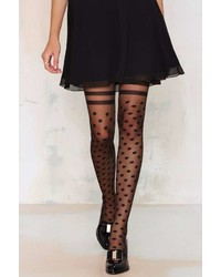 Nasty Gal Factory Tight Spot Sheer Tights