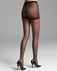 Kate Spade New York Tights Spotted With Back Seam