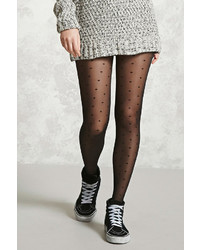 e772aa3a568ae Women's Black Tights by Forever 21 | Women's Fashion | Lookastic.com
