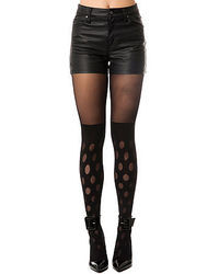House of Holland The Reverse Polka Dot Tights