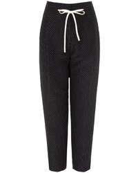3.1 Phillip Lim Polka Dot Silk Peg Trousers