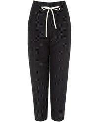 3.1 Phillip Lim Polka Dot Silk Peg Trousers