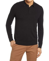 Selected Homme Berg Long Sleeve Polo Sweater