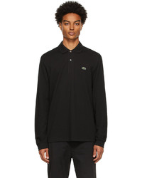 Lacoste Black Classic Piqu Long Sleeve Polo