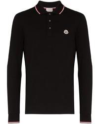 Moncler Logo Embroidered Polo Shirt