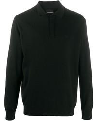 Emporio Armani Long Sleeved Polo Shirt