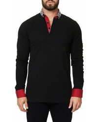 Maceoo Long Sleeve Polo