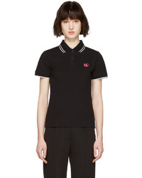 MCQ Alexander Ueen Black Swallow Polo