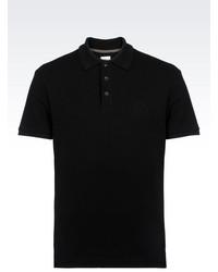 Armani Collezioni Polo Shirt In Cotton Pique
