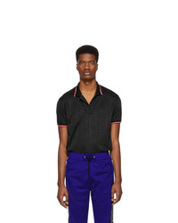 Givenchy Black 4g Polo Shirt