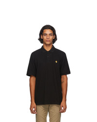 CARHARTT WORK IN PROGRESS Black Chase Polo