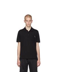 Givenchy Black Logo Polo