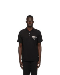 Moschino Black Polo