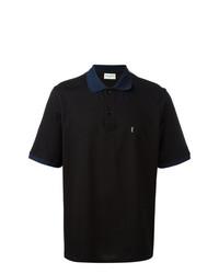 431594a71 Men's Black Polos by Saint Laurent | Men's Fashion | Lookastic.com