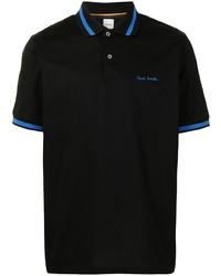 Paul Smith Contrasting Trim Cotton Polo Shirt