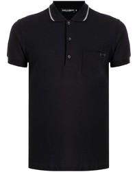 Dolce & Gabbana Cotton Patch Pocket Polo Shirt