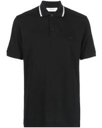 Z Zegna Embroidered Logo Cotton Polo Shirt