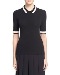 Grey jason wu knit polo medium 1005913